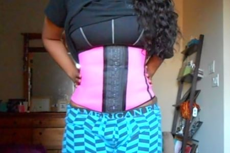 correct waist training